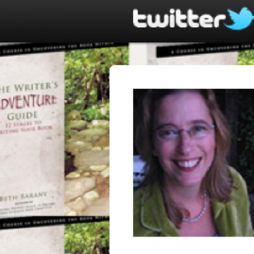 Beth Barany, author of The Writer's Adventure Guide, and Henrietta The Dragon Slayer