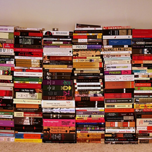 Book stack by Joseph Voves