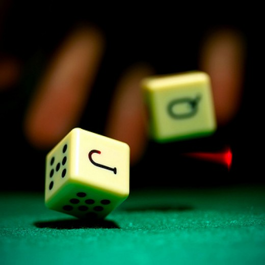 Dice by Daniel Dionne--Creative Commons Attribution-ShareAlike 2.0 Generic