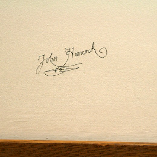 John Hancock signature by Quinn Dombrowski-creative commons-from flickr