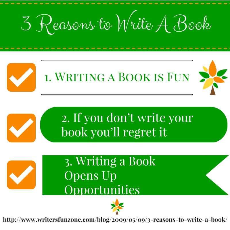 Top reasons to write a book