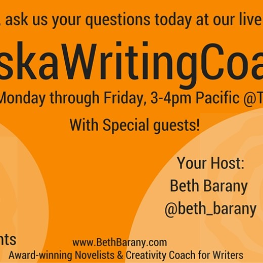 Ask us your questions about writing, publishing, + marketing your fiction at... (2)