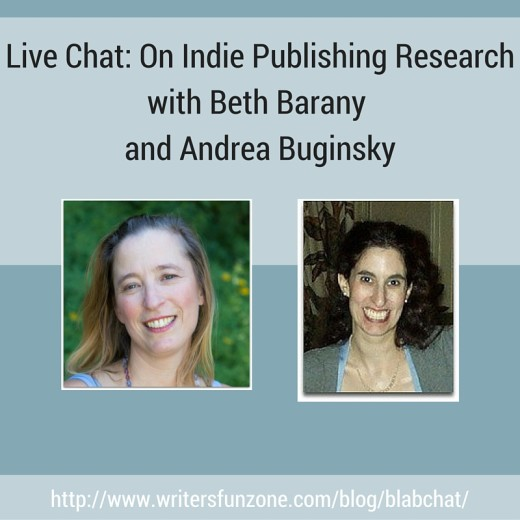 Live Chat- On Indie Publishing Research with Beth Barany and Andrea Buginsky (WFZ)